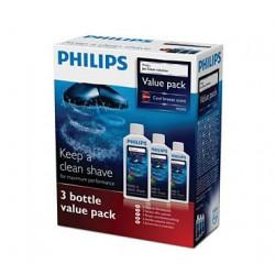 Lotion nettoyante Philips, jetclean, 3 lotions