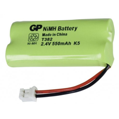 2 Accus rechargeables HR03 AAA 550 mAh 2,4V - 220382C1